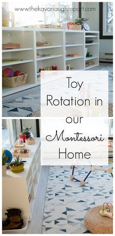How should you rotate toys in a Montessori environment? Here are some Montessori points to keep in mind when considering toy rotation. Source by Montessori Baby, Montessori Playroom, Montessori Homeschool, Montessori Activities, Infant Activities, Montessori Toddler Bedroom, Homeschooling, Montessori Materials, Classroom Activities