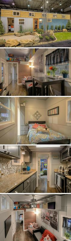 MODERN EMPTY NESTER TINY CONTAINER HOME