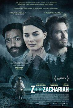 Z for Zachariah es una historia post-apocalíptica sobre una chica que vive sola y que lleva una granja en la última sección respirable de la Tierra tras...