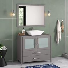 Shop this Modern Bathroom Design!
