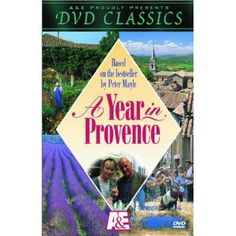 A Year in Provence- BBC production of the book, John Thaw is a little grumpy in this, but overall a great series that makes me long to visit! I have been torturing myself for years watching this over and over, and now I get to see it! yippee! I would recommend viewing through netflix (am I allowed to say that??).