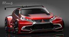 Mitsubishi Concept XR-PHEV Evolution Vision Gran Turismo .-