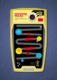 Stranger Things fan illustration | Andrea Bettega on Behance