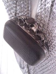 Sling bag by Olivia Hainaut.