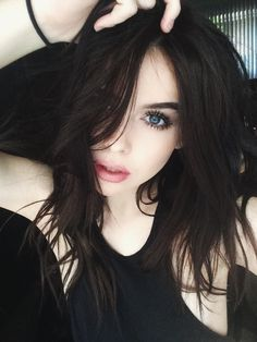 New hair color ideas for brunettes with fair skin haircuts Ideas Hair Color For Fair Skin, Hair Color Dark, Brown Hair Colors, Dark Hair Pale Skin, Hair Colours For Pale Skin, Chocolate Brown Hair Pale Skin, Brown Black Hair Color, Dark Hair Blue Eyes, Color Blue