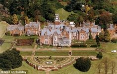 "Bagshot Park.  the home of Edward and Sophie Wessex. The Esoteric Redux: Relatively Royal On The ""Royal Fringe"" Homes Of The Satellite Royals"
