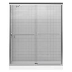 """KOHLER+59-5/8""""W+x+70-1/4""""H+Frameless+Sliding+Shower+Door"""