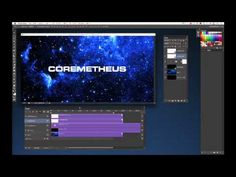 Photoshop CS6 Tutorial | Motion Graphics. I LIKE THIS ONE