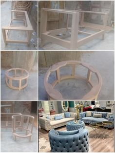 Green Sofa, Furniture Ideas, Entryway Tables, Couch, Coffee, Diy, Home Decor, Home, Kaffee