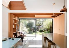 neighbourhood is an architecture practice with projects in London and across the UK House Extension Design, House Design, Nordic Living Room, Kitchen Diner Extension, Kitchen Cabinet Remodel, Kitchen Cabinets, Interior Architecture, Interior Design, Small Buildings