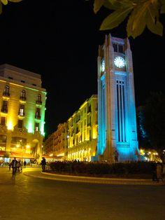 Clock-tower, Beirut, Lebanon. THE LIBYAN Esther Kofod www.estherkofod.com