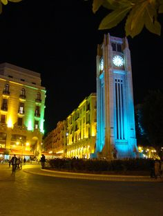 Clocktower Downtown Beirut