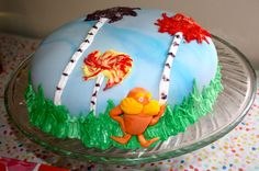 Dr. Seuss' The Lorax cake