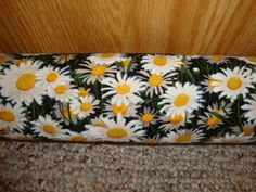 """Draft Stopper, Filled with Fragrant Balsam, Large Diameter 3"""" (Platinum Plus) - Daisies ** To view further for this item, visit the image link."""