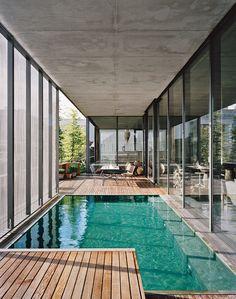 Berlin Penthouse: Concrete Thinking - Christian Boros and Karen Lohman's Penthouse in Berlin