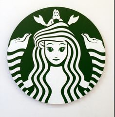 Two of my favorite things: Starbucks and The Little Mermaid
