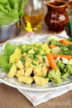 Zdrowy i prosty obiad - kurczak w marynacie jogurtowo - czosnkowej | Zdrowe Przepisy Pauliny Styś