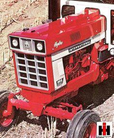 International Tractors, International Harvester, Antique Tractors, Vintage Tractors, New Tractor, Ih, Lawn Mower, Logan, Childhood