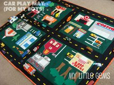car play mats car mats cute cars diy car kids gifts sewing crafts sewing ideas sewing projects felt projects