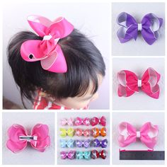 Girl's Accessories 6 Pcs Cherry Floral Girl Cute Hair Clips For Women Pink Fruits Princess Tip Clip Hair Accessories Hair Bows For Girls Online Discount