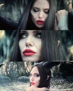 "Angelina Jolie as Maleficent in ""Maleficent: Mistress of Evil"" Maleficent Quotes, Maleficent Movie, Angelina Jolie Maleficent, Angelina Joile, Brad Pitt, Disney Villains, Disney Movies, Cartoon Drawings, Cartoon Art"