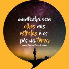 Sim, devemos manter os pés plantados no terra. Mas não podemos nunca deixar de sonhar. Tudo que hoje existe, criado pelo homem, nasceu de um sonho. Devemos acreditar que podemos sempre realizar nossos sonhos. #4mind #mood #marketing #negocio