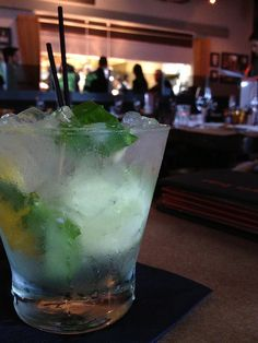 """Blame it on The """"Rayne"""" cocktail at Town Kitchen & Bar - South Miami by miamism"""