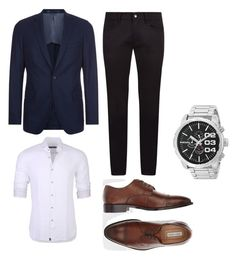 """""""Set 6"""" by comidina ❤ liked on Polyvore featuring BOSS Hugo Boss, Stone Rose, Dolce&Gabbana, Joseph Abboud, Diesel, men's fashion and menswear"""
