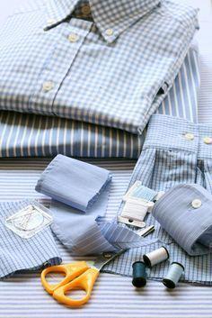 Riciclare le camicie: tante idee da copiare