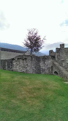 Grand castle, Bellinzona, Ticino, CH