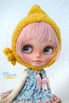 DWARF CAP for Blythe by Miema Dollhouse por miema4dolls en Etsy