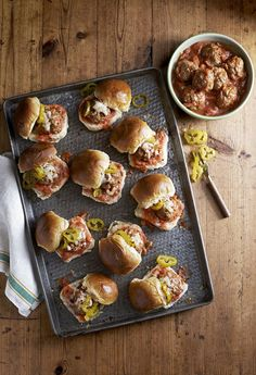 Slow-Cooker Meatballs  - CountryLiving.com