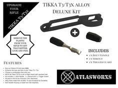 40 Best Atlasworxs Accessories for Tikka T3 / T3x images in