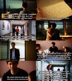 The Perks of Being a Wallflower. The ending always has me in floods of tears, but leaves me with hope that I will be ok.