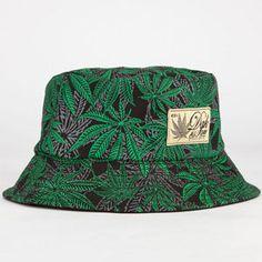 DGK Home Grown Mens Reversible Bucket Hat - BLACK - DH-554 7514b7432578