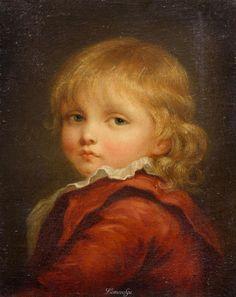 Jean-Baptiste Greuze (1725–1805) Портрет мальчика 1790