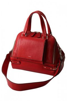 FURLA+AMALFI+2Wayハンドバッグ+レッド from FURLA - ¥79,800  ~ $811.85 - trendme.net