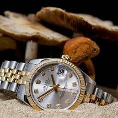 Rolex DateJust mm) from 2011 with official box and papers. Rolex Watches For Men, Vintage Watches For Men, Vintage Rolex, Luxury Watches, Best Workouts For Men, Fun Workouts, Baby Weeks, Rolex Datejust, 6 Pack Abs
