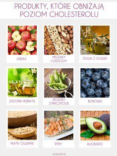 Produkty, które warto włączyć do diety, gdy borykamy się z problemem podwyższonego cholesterolu.