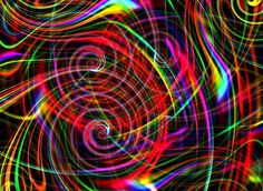 Psychedelic Trance Art   Trippy Art Image