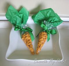 Healthy treat for easter baskets