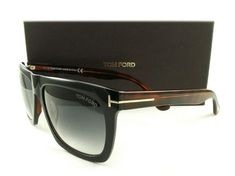 Tom Ford Black/Havana Tf0513 05b Ft0513 Unisex Morgan Sunglasses - Tradesy
