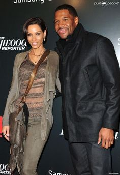 "Michael Strahan Divorce Nicole Murphy | Nicole Murphy, Michael Strahan - Premiere du film ""Django Unchained"" a ..."