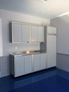 Garage Photos | Aluminum Storage Cabinets | Moduline Cabinets