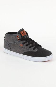 #Globe Motley Mid Charcoal Shoes
