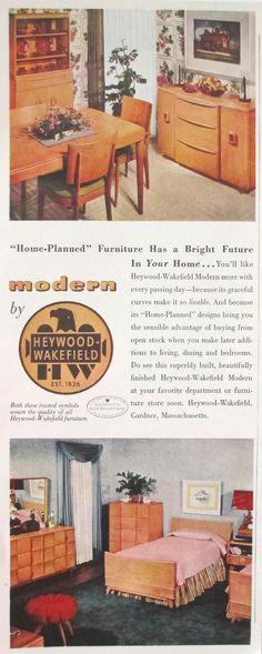 Heywood Wakefield, 1950