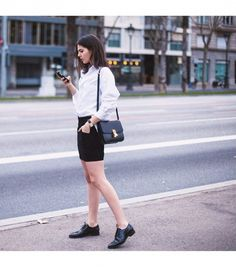 Our Epic Roundup Of Street Style Outfits To Try Now via Style Me, Cool Style, Fashion Moda, Fashion Photo, Fashion Beauty, Work Fashion, Women's Fashion, Simple Outfits, Street Style