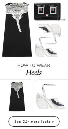 """""""Floral Mesh"""" by cherieaustin on Polyvore featuring Christopher Kane, Fendi and Maison Margiela"""