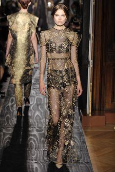 Valentino Couture FW 2013/ Black Gold