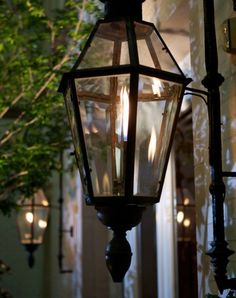 Classic new orleans gas lanterns and french doors design copper gas lanterns and electric lights are a beautiful accent piece for any style home or business see examples of our handmade lanterns and mounting mozeypictures Image collections